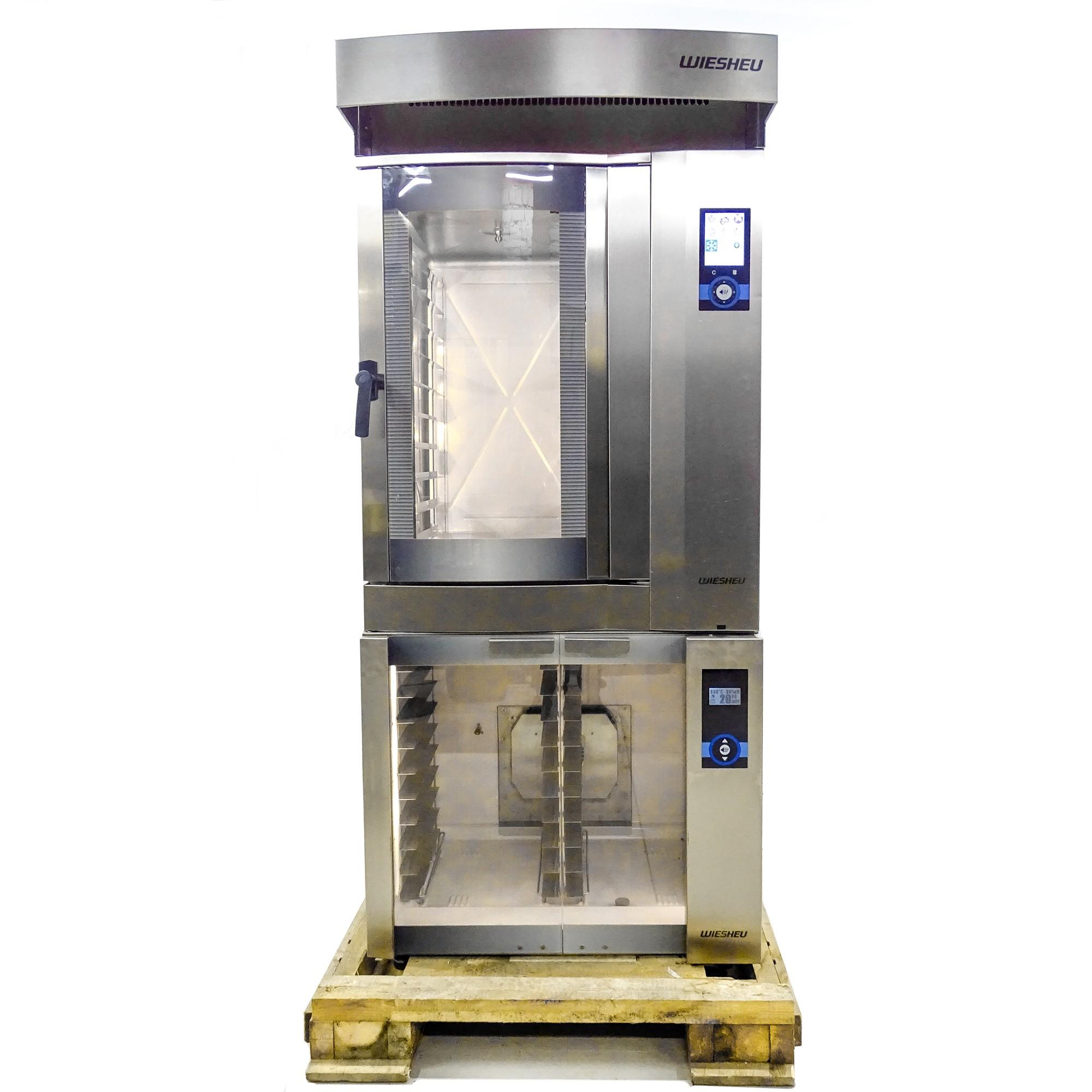 Печь конвекционная электрическая WIESHEU DIBAS 64 L, расстоечный шкаф WIESHEU GS 64 L и вытяжка WIESHEU