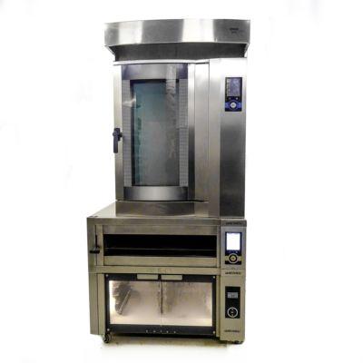 Пекарская стойка — печь конвекционная электрическая WIESHEU DIBAS 64 L, печь подовая WIESHEU EBO 86 S EXCLUSIVE, расстоечный шкаф WIESHEU GS, вытяжка WIESHEU