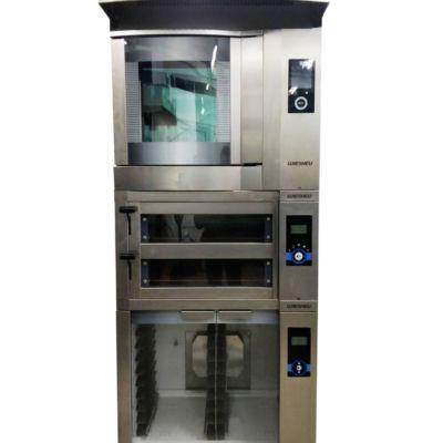 Пекарская стойка — печь конвекционная WIESHEU DIBAS 64 S, печь подовая WIESHEU EBO 68L, расстоечный шкаф WIESHEU