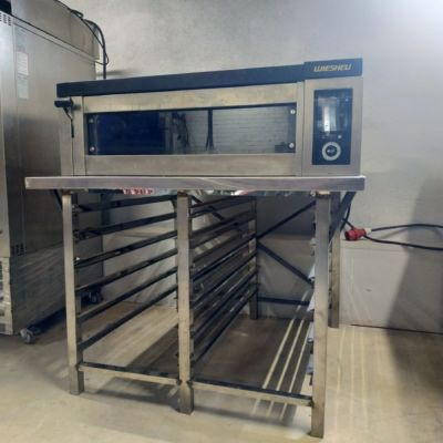 Печь подовая wiesheu EBO 86S с подставкой