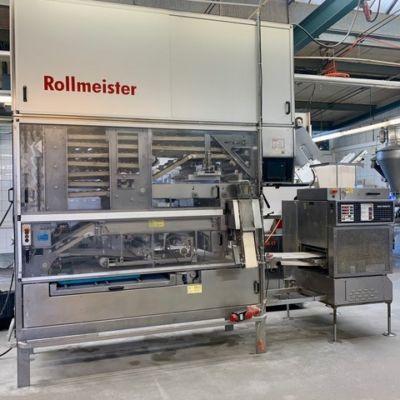 W&P Rollmeister линия по производству булочек с головной машиной MUS G