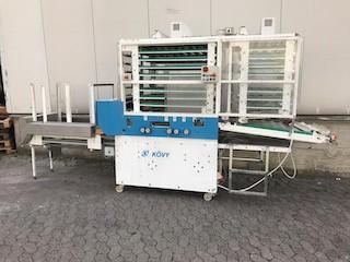 Системы Kövy для производства булочек KA2 с головной машиной Fortuna KM4