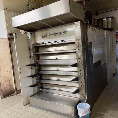 Термомасляная ярусная печь Daub Backmeister