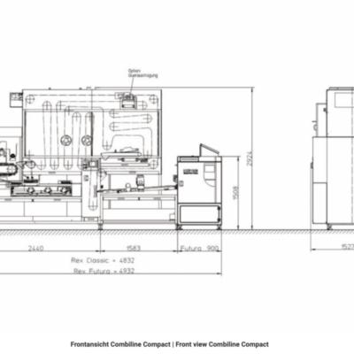 Konig Combi Line Compact линия для мелкоштучных изделий