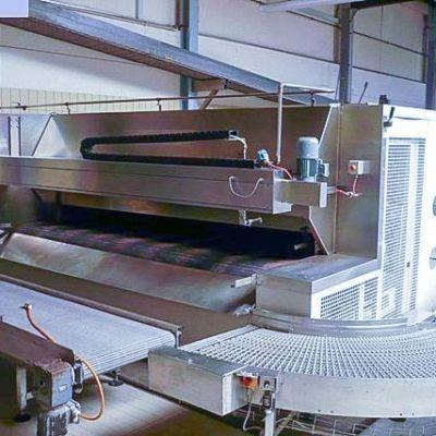 W&P — туннельная печь с сетчатым полотном